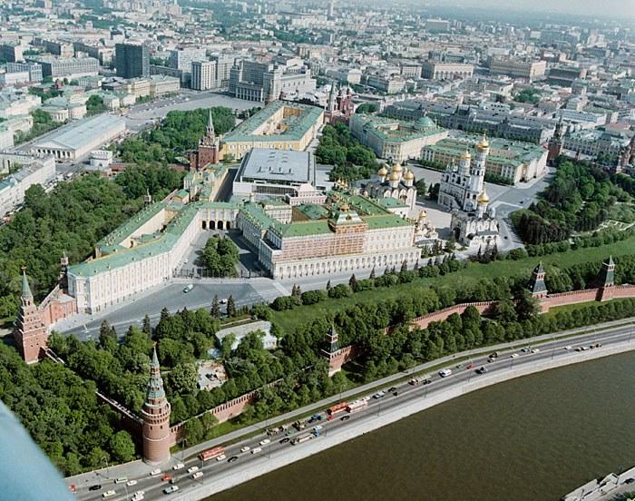 il cremlino in età sovietica